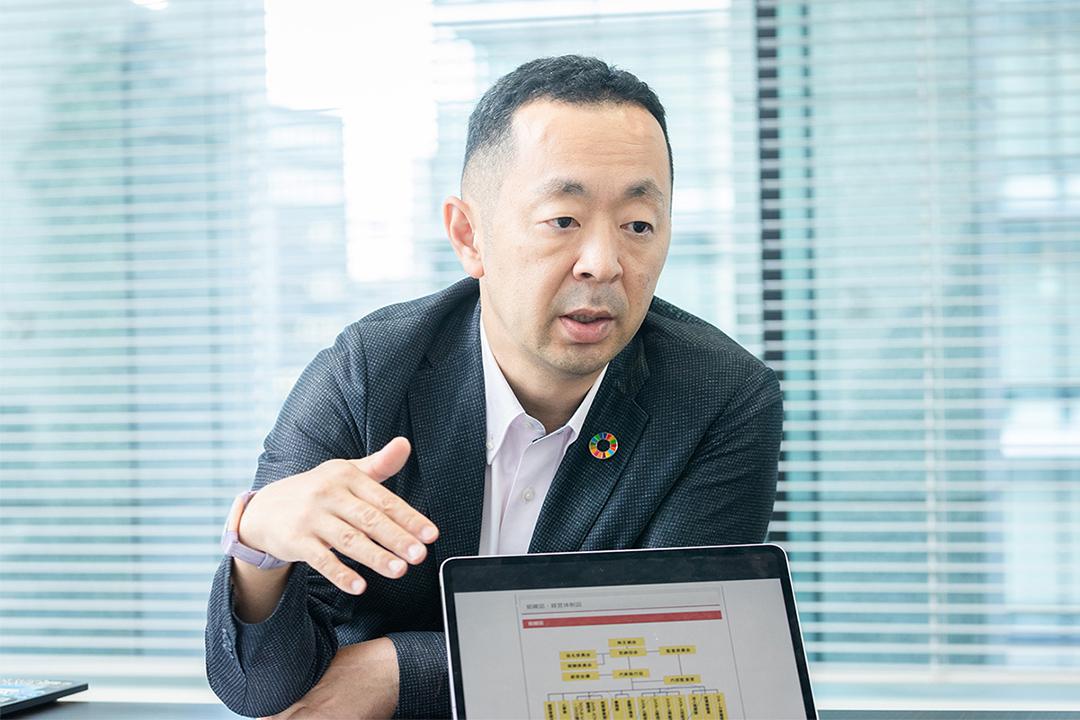 auカブコム証券株式会社 システムリスク管理室長 石川さん